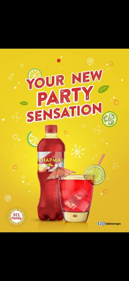 Bel Beverages Introduces New Flavoured Bel-Chapman Drink At Lesfam Company.