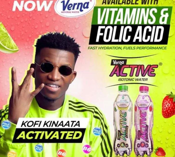 Kofi Kinaata Drops New Song For Verna Active