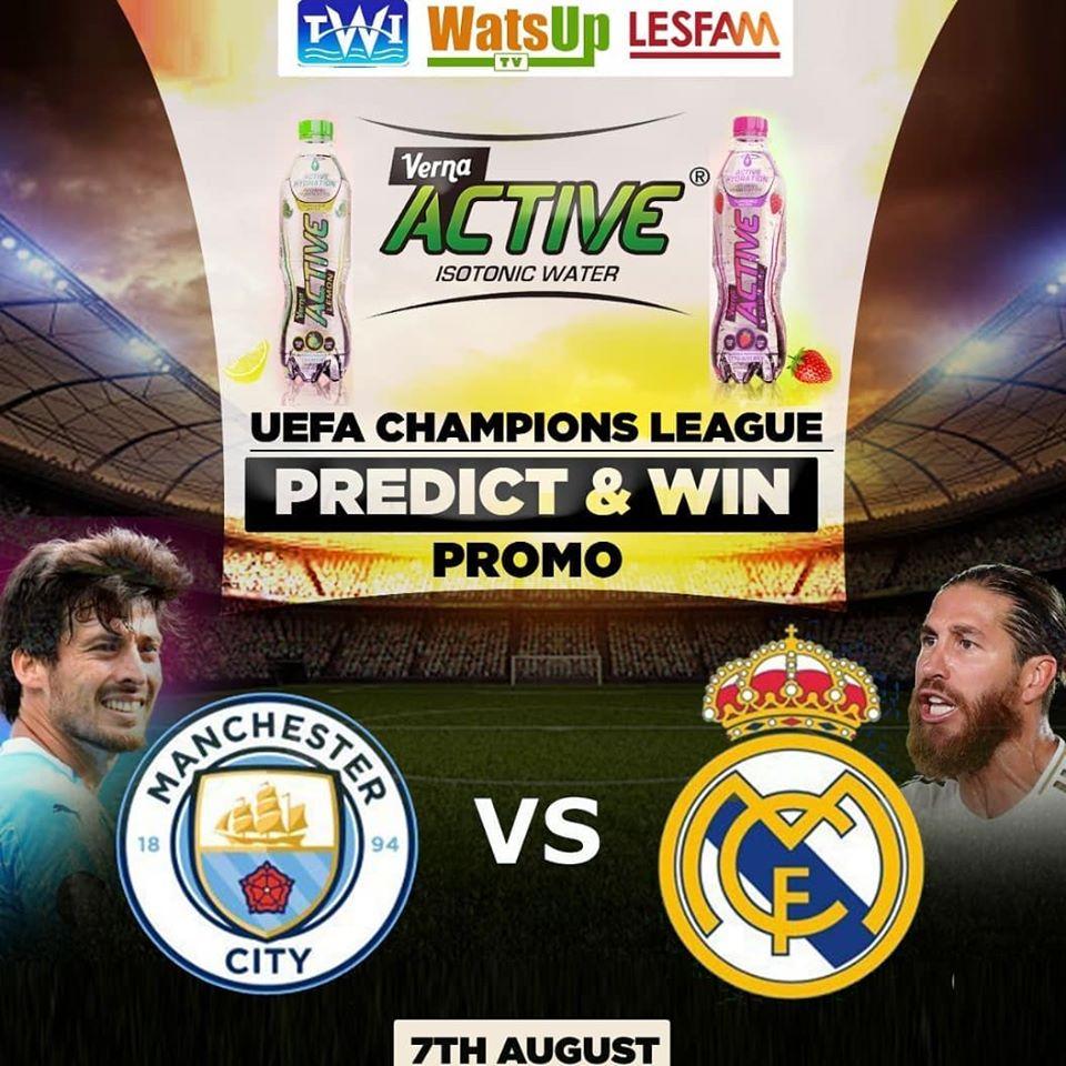 LESFAM VERNA-ACTIVE UEFA CHAMPIONS LEAGUE PREDICT & WIN PROMO