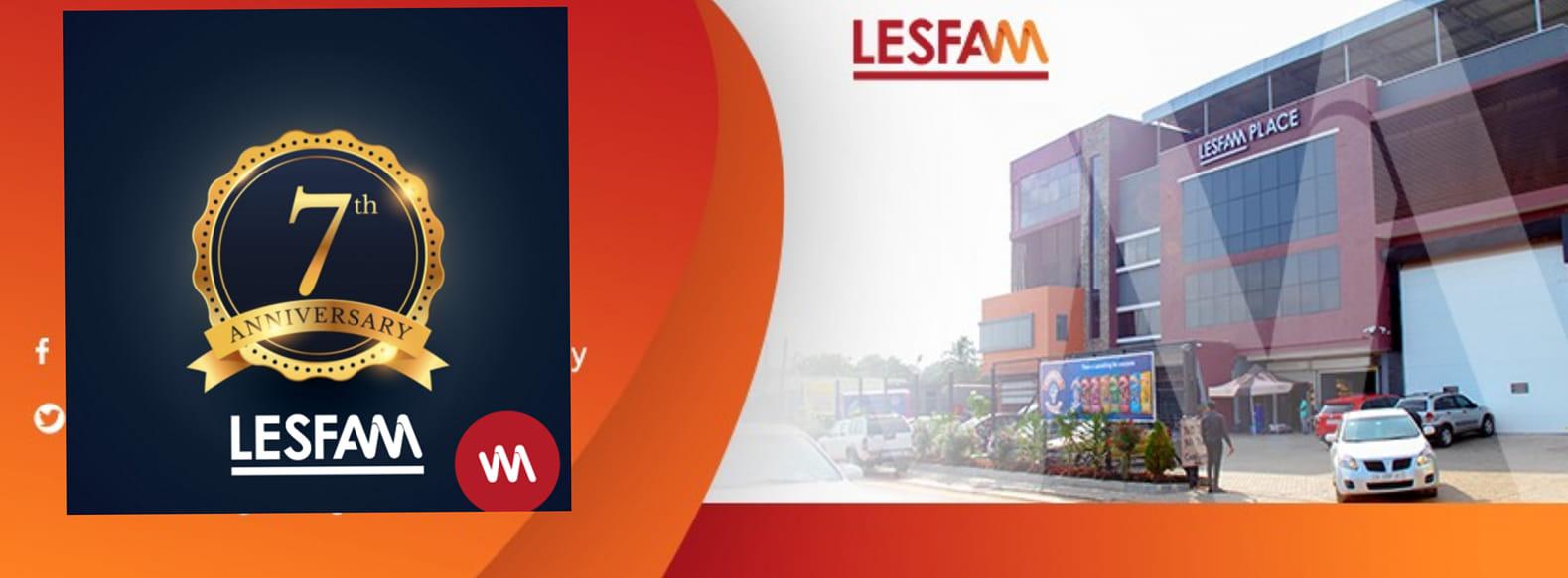 LESFAM COMPANY LTD CELEBRATES 7TH ANNIVERSARY WITH MINI PARTY.