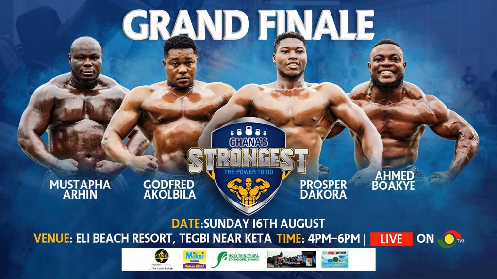 LESFAM COMPANY WISHES FOUR FINALIST OF GHANA'S STRONGEST GOOD LUCK