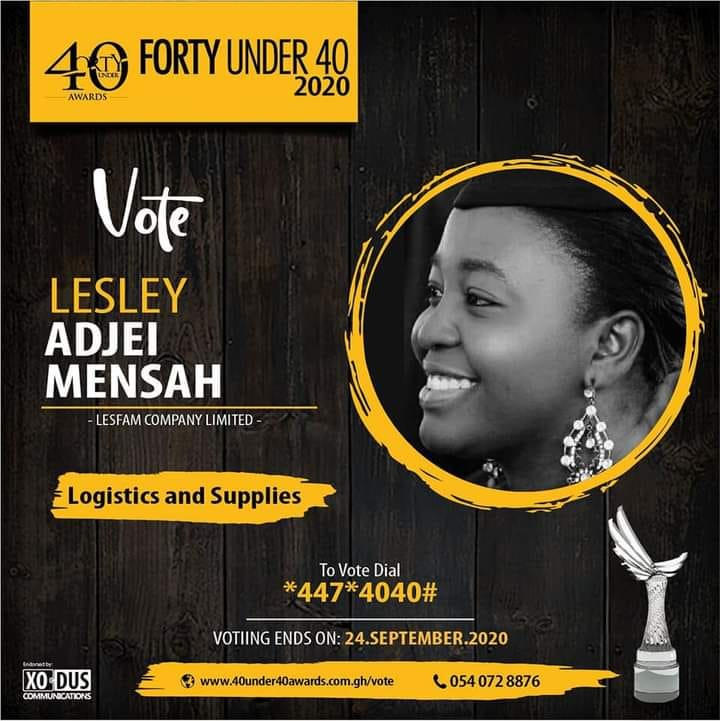 LESFAM COMPANY CEO NOMINATED FOR FORTY UNDER 40 AWARDS 2020