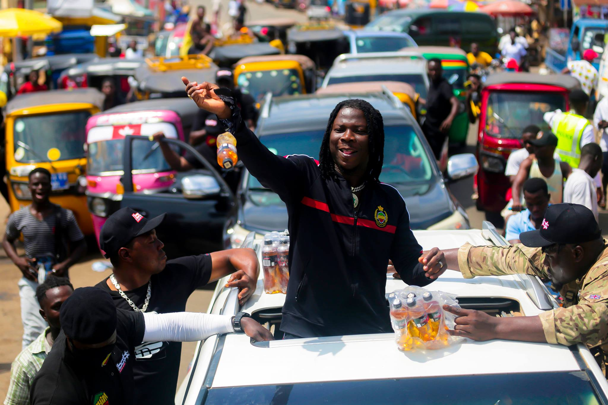 Stonebwoy takes 'Big Boss' roadshow to Ho