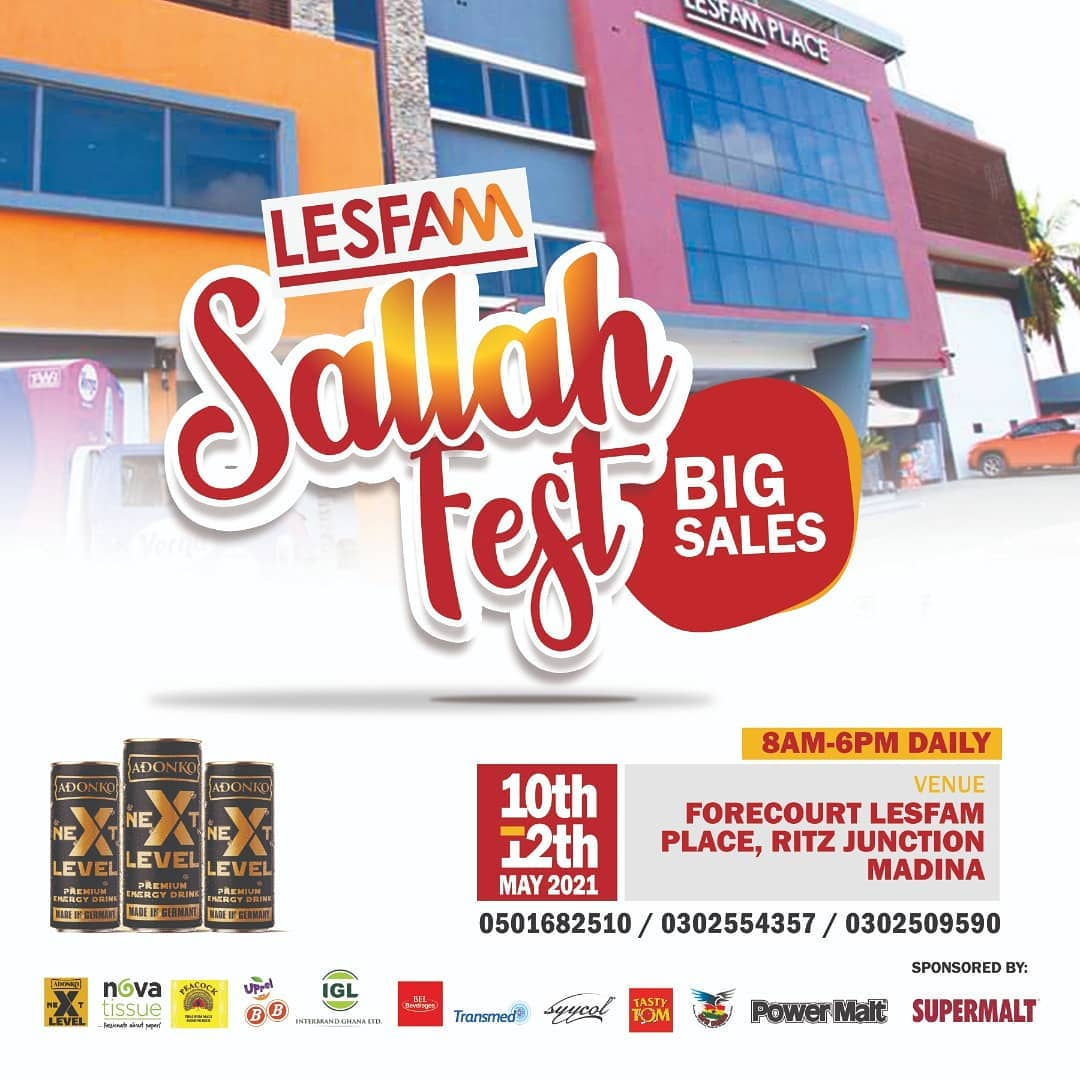LESFAM COMPANY TO CELEBRATE SALAH IN GRAND STYLE